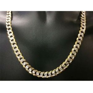 Harlembling Men 10mm Cuban Link Chain Necklace